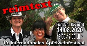 Internationales Apfelweinfestival in Frankfurt